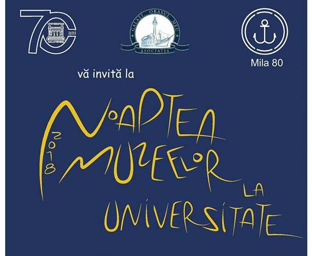 Noaptea Muzeelor la Universitate