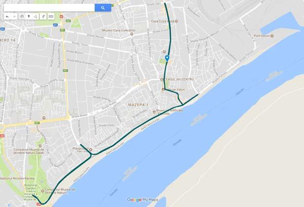 Trafic rutier restricţionat la Semimaraton (27 mai) pe Domnească şi Faleză