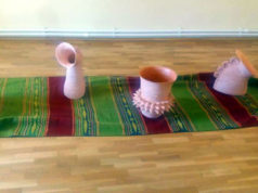 """Expoziţia de ceramică şi sticlă """"Ciulinii Bărăganului"""" - Constantin Lucian"""