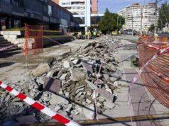 Centrul orașului Galați a intrat în reparații capitale