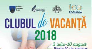 Clubul de Vacanţă - între 2 iulie - 10 august - la Biblioteca Judeţeană Brăila