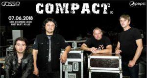 Concert extraordinar Compact la Gossip Café pe 7 Iunie