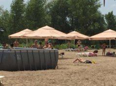 După o minimă amenajare, gălăţenii pot merge GRATUIT la plaja Dunărea