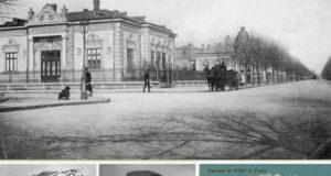 La pas în Grădina Publică în Galaţii de altădată - 1918