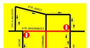 O porțiune din strada Basarabiei se închide pentru 3 luni, începând cu 7 iunie