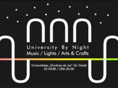 University by Night Music, Lights, Arts & Crafts la Universitatea Dunărea de Jos