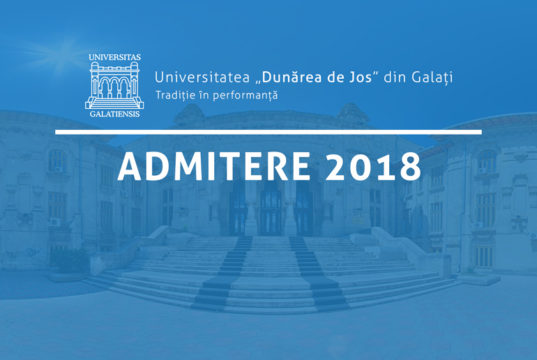 """Universitatea """"Dunărea de Jos"""" din Galați"""
