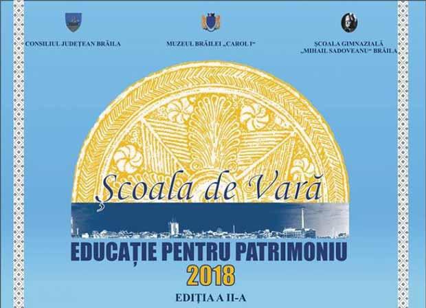 Școala de Vară Educaţie pentru Patrimoniu