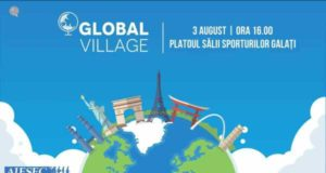 Aiesec vă invită la Global Village Galați pe 3 august 2018