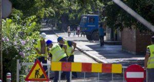 Au început lucrările stradale în zona Colegiului Național Mihail Kogălniceanu