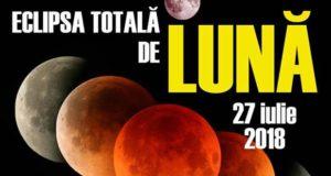 Eclipsă totală de Lună - 27 iulie 2018