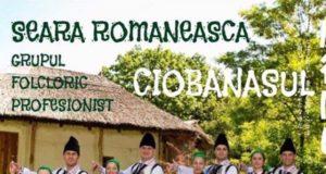 Seară românească cu Grupul Folcloric Profesionist Ciobănașul