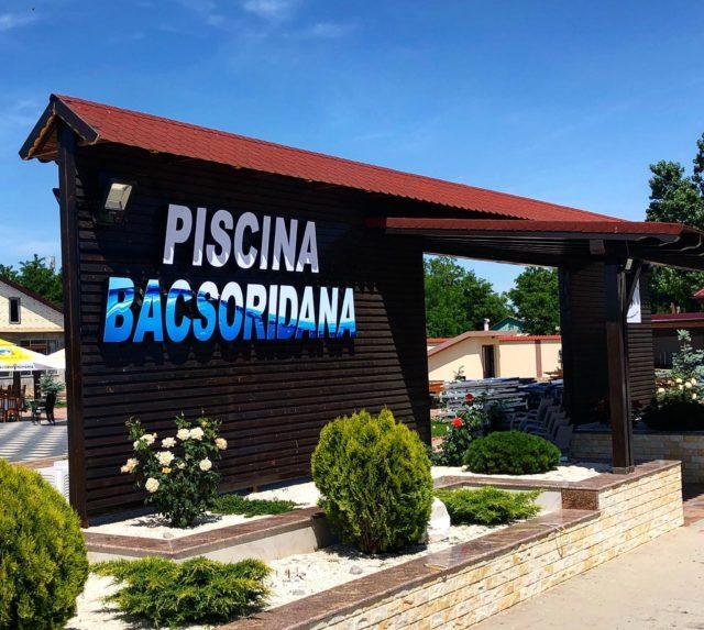 Piscina Bacsoridana - cea mai mare piscină din Județul Galați