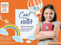 Donează un Caiet pentru viitor! Susține educația alături de Fundația Comunitară Galați!