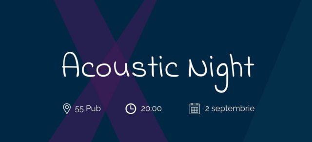 Acoustic Night la 55Pub