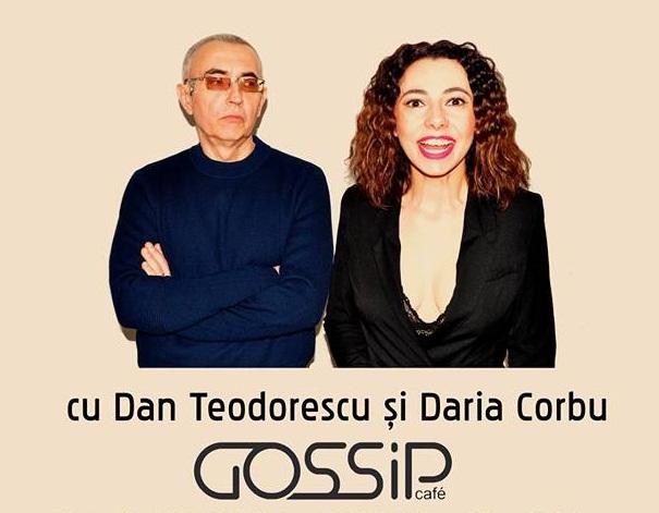 Spectacol de stand-up cu Dan Teodorescu și Daria Corbu