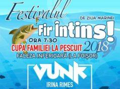 """Festivalul """"Fir Întins 2018"""" şi concerte pe Faleză - de Ziua Marinei"""