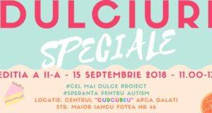 Dulciuri Speciale - Ediția a II-a - 15 Septembrie, orele 11-17