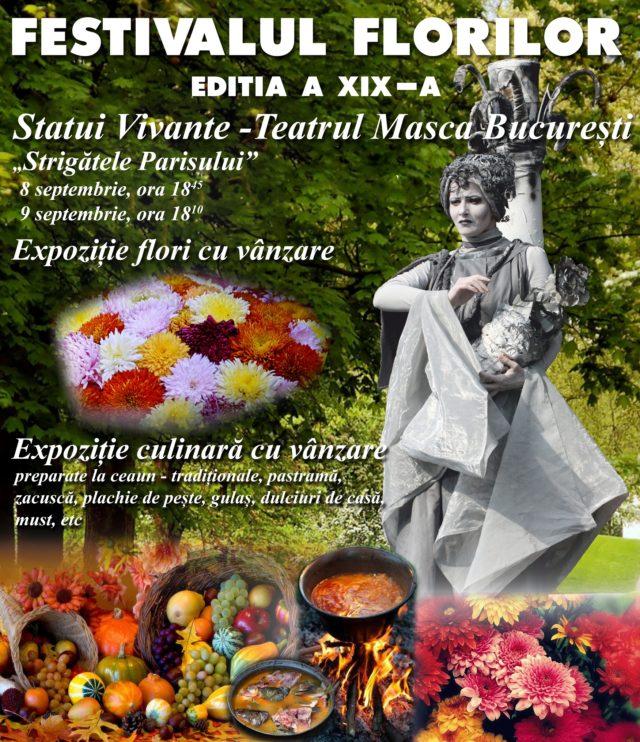 Festivalul Florilor Brăila - Parcul Monument, 7 - 9 septembrie 2018