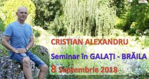 Galați - Practica Atenției Supramentale - Seminar Modulul 1