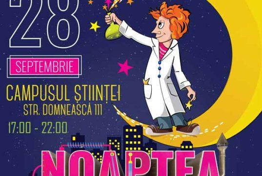 Noaptea Cercetătorilor Europeni - o mare varietate de activităţi ştiinţifice şi educative