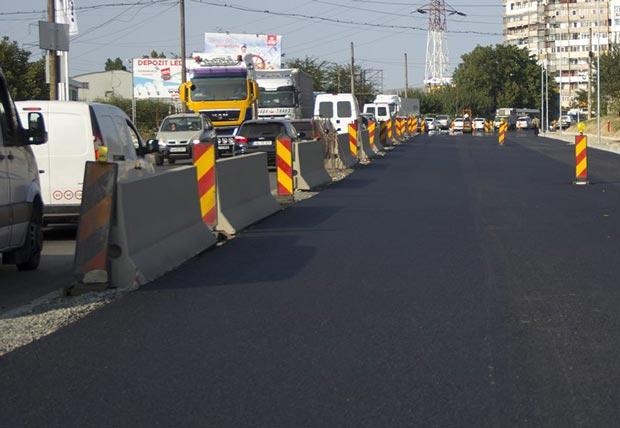Noi restricţii de trafic intră în vigoare de luni, 17 septembrie