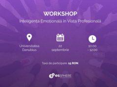 Workshop - Inteligența Emoțională în Viața Profesională