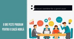 8 ore peste program pentru o cauză bună - înscriea proiectelor până la 1 noiembrie