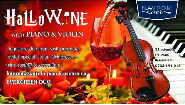 Degustare de vinuri roșii de Halloween la Hotel Navrom River