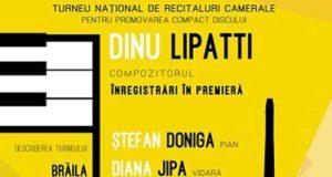 """Regal """"Dinu Lipatti"""" la Teatrul """"Maria Filotti"""" din Brăila - pe 29 octombrie"""