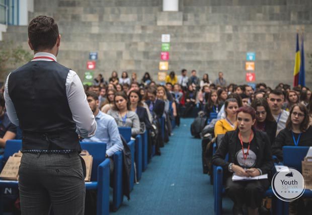 YouthSpeak Forum: Unlock your potential - eveniment dedicat studenților