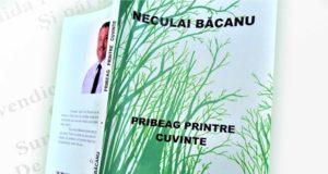 Pribeag Printre Cuvinte - Volum de poezii lansat de Neculai Băcanu