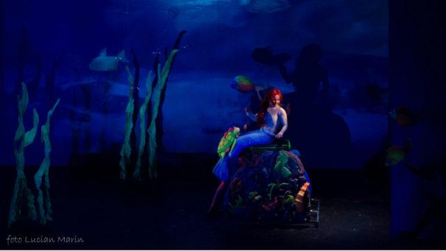 Mica Sirenă în spectacol, la Teatrul Gulliver în acest weekend