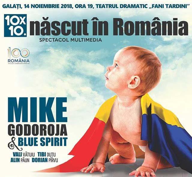 10x10 Născut în România Galați