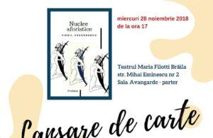 Lansare de carte: Nuclee Aforistice, de Virgil Andronescu
