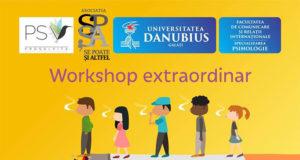 Fenomenul adicției - workshop extraordinar pe 27 noiembrie