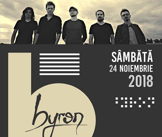 Concert Byron la Daily Pub - pe 24 noiembrie