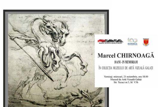 Vernisaj expoziție Marcel Chirnoagă