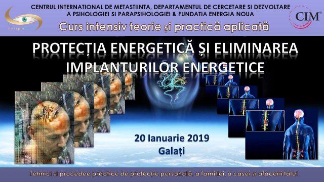 Curs Protecția Energetică și Eliminarea Implanturilor Energetice la Galați