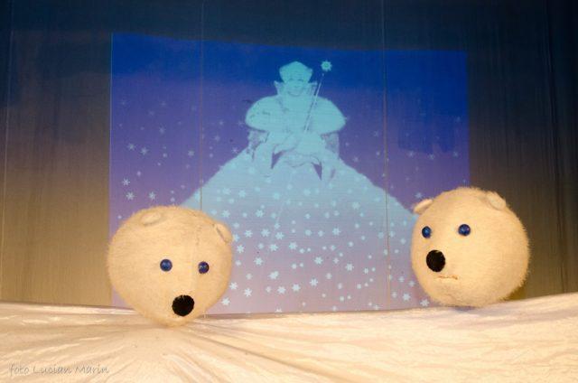 Crăiasa Zăpezilor - 27 Ianuarie la Teatrul de Păpuși Gulliver Galați