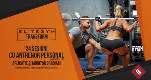 La EliteGym antrenamentul cu Personal Trainer îți duce premii!
