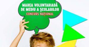 Marea Voluntariadă a Școlarilor - competiție națională de mediu adresată școlilor gimnaziale