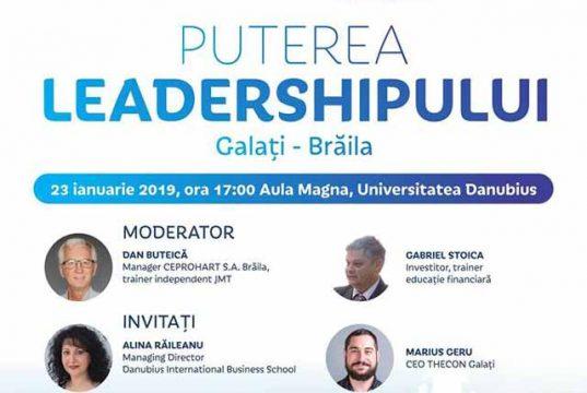 Puterea Leadershipului Galati - Braila