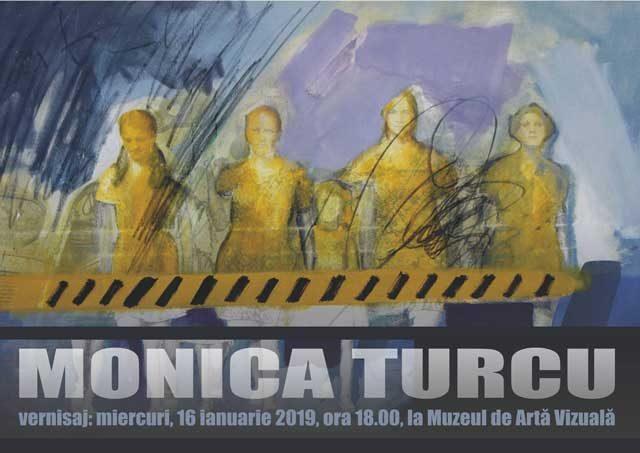 Vernisajul expoziției de pictură și colaj semnată Monica Turcu