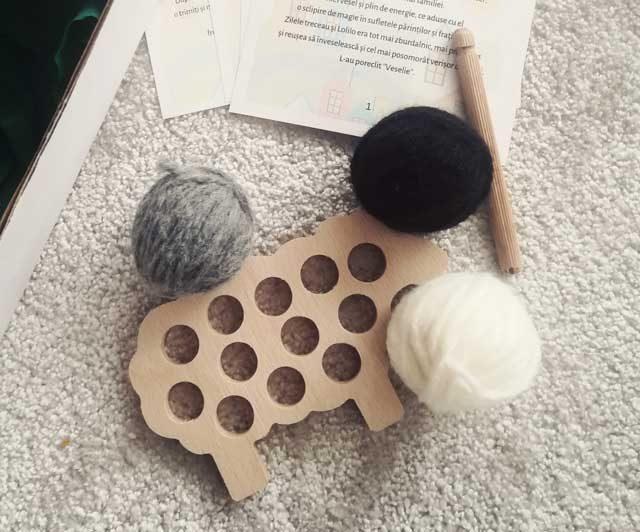 Oița Înfrigurată - jucăria ideală pentru copil și pentru părinte