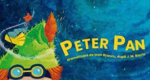 Peter Pan - un spectacol cu păpuși mari și frumoase