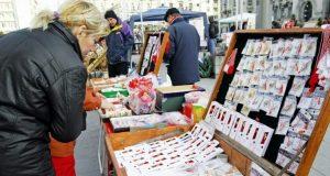 La Galați s-au stabilit opt zone pentru comercializarea stradală de mărțișoare
