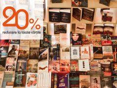 20% reducere la toate cărțile din librărie