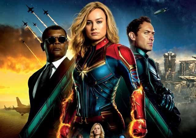 Captain Marvel - trăiește din plin primul film Marvel cu o supereroină în rol principal