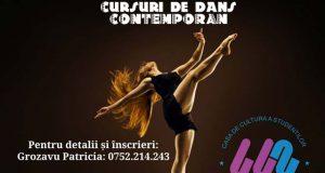 Cursuri gratuite de dans contemporan pentru elevi și studenți la CCS Galați